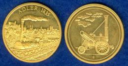 Medaille Lokomotive Adler 30mm - Pièces écrasées (Elongated Coins)