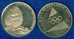 Medaille Franziska Von Almsick 1994 40mm - Pièces écrasées (Elongated Coins)