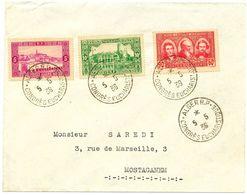 ALGERIE 1939 CONGRES EUCHARISTIQUE ALGER RP ( LETTRE ) - Cartas