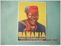 CLOUET   10744 BANANIA   BUSTE   DEJEUNER - Advertising
