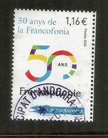 ANDORRA.La Francophonie 2020.Organisation Internationale De La Francophonie. 50 Ième Anniversaire,oblitéré 1 ère Qualité - Languages