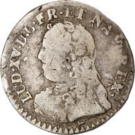 Monnaie, France, Louis XV, 1/20 Écu  Aux Branches D'olivier, 1729, Limoges - 1715-1774 Louis XV Le Bien-Aimé