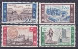 Belgique N° 1385 - 1388 ** Couv Des Frères Mineurs Liège - Ab Du Val-Dieu Aubel - Ville De Huy - Ambiorix Tongres - 1966 - Unused Stamps