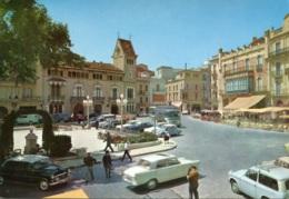 DKW 1000,F 800,Citroen DS,Peugeot 404,Fiat 1400A,Omnibusse,Figueras,Rambla Sara Jorda, Ungelaufen - Passenger Cars