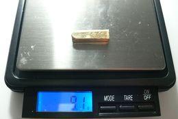 LINGOTE DE ORO DE 18 KILATES Y DE 9,10 GRAMOS - Juwelen & Horloges