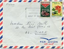 HAUTE-VOLTA LETTRE PAR AVION DEPART OUAGADOUGOU ?-1-66 HAUTE-VOLTA POUR LA FRANCE - Haute-Volta (1958-1984)