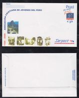 Peru 2001 Aerogramme Stationery CUJM ** MNH - Perù