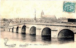 CPA 41 BLOIS Vue Générale - N° 135 Grand Bazar, Voyagée, écriture Plume, Timbrée, 1904, DND - Blois