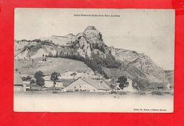 La Cluse Et Mijoux : Le Village, Les Fermes Vers 1900 - France