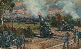 FELDPOST   Verdun Eroberung Franz. Geschütze Bei Bethincourt 1.   1914/15 WWI WWICOLLECTION - Litauen