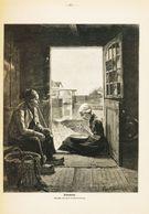Feierabend (nach Einem Gemälde Von Henrik Hardenberg. /  Druck, Entnommen Aus Zeitschrift / 1912 - Libros, Revistas, Cómics