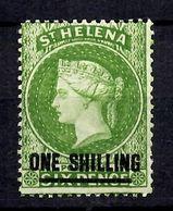 Sainte-Hélène YT N° 9 Neuf *. Filigrane CC. B/TB. A Saisir! - Saint Helena Island