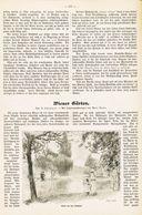 Wiener Gärten. /  Artikel, Entnommen Aus Zeitschrift / 1912 - Libri, Riviste, Fumetti