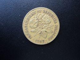 MADAGASCAR * : 20 FRANCS - 4 ARIARY   1982    KM 12     TTB+ - Madagaskar
