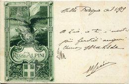 55353 Italia, Cartolina Reggimentale 5° ALPINI, Viaggiata 1919 - Militaria