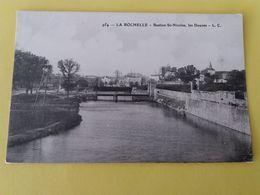 CPA- LA ROCHELLE -954-  BASTION SAINT NICOLAS  LES DOUVES  (CARTE PEU COURANTE) - La Rochelle