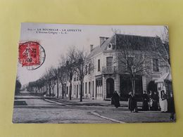 CPA- LA ROCHELLE -627-  LA GENETTE  L'AVENUE COLIGNY  (CARTE PEU COURANTE) - La Rochelle