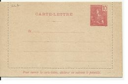 INDOCHINE ENTIER POSTAL ACEP N° CL 7 CARTE LETTRE - Unclassified