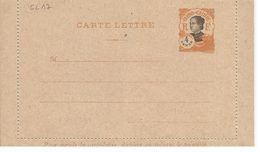 INDOCHINE ENTIER POSTAL ACEP N° CL 16 CARTE LETTRE - Unclassified