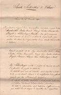 COLMAR : Société  D'HORTICULTURE DE COLMAR 1869 (SCHLUMBERGER) - Documents Historiques