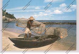SEYCHELLES, Fisherman - Seychelles