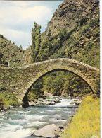 ANDORRE. VALLS D'ANDORRA. LA MASSANA PONT ROMAIN DE ST ANTOINE. ANNEE 1960 + TEXTE - Andorra