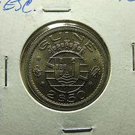 Portuguese Guiné 2 1/2 Escudos 1952 - Portugal