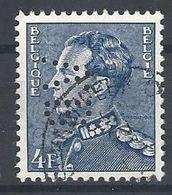 Nr 847A Gestempeld Perfin V.B - Perfins