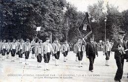 65  CONCOURS MUSICAL 1906  LA LYRE MONTAGNARDE DE LOURDES - Non Classés