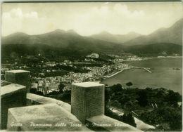 GAETA ( LATINA ) PANORAMA DALLA TORRE DI MUNAZIO PLANCO - EDIZIONE RISPOLI - SPEDITA 1953 (BG4100) - Latina