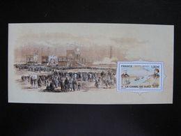 TB B.F.souvenir : Le Canal De Suez ... , Sans Encart, Neuf XX. - Foglietti Commemorativi