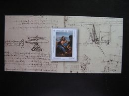 TB B.F.souvenir : Léonard De Vinci ... , Sans Encart, Neuf XX. - Foglietti Commemorativi