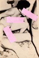 Photo Originale Acte Erotique, Une Femme Pour 2 Hommes Vers 1950 - Nue - Beauté Féminine (1941-1960)