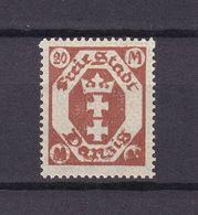 Danzig - 1922 - Michel Nr. 111 Mit Druckbesonderheit - Postfrisch - Danzig