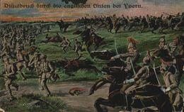 FELDPOST IEPER Durchbruch Durch Die Englischen Linien Bei Ypern    1914/15 WWI WWICOLLECTION - Ieper