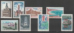 FRANCE    Monuments Et Sites    N° Y&T  1499 à 1506  ** - Nuevos