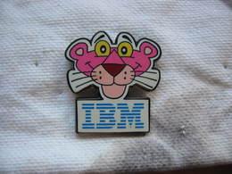 Pin's IBM, Panthere Rose - Informatique