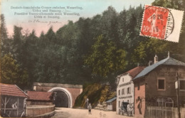 88 - Frontiere Franco Allemande Entre Wesserling , Urbis Et Bussang - Bussang