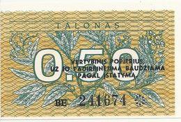 LITUANIE 0.50 TALONAS 1991 UNC P 31 - Litauen