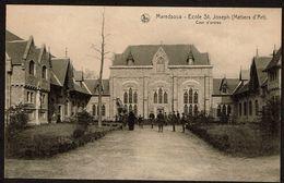 Maredsous - Ecole St Joseph - Métiers D'Art - Cour D'entrée - 2 Scans - Anhée
