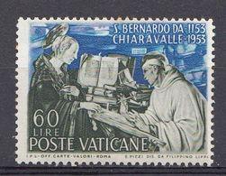 Vatikaan 1953  Mi.nr. 210 Todestag Des Hl.Bernhard   OBLITÉRÉS-USED-GEBRUIKT - Oblitérés