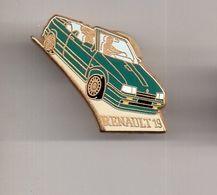 REF Y3 : Pin's Pin Arthus Bertrand Renault 19 Verte - Arthus Bertrand