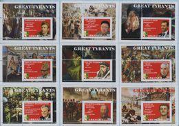 Fantazy Labels / Private Issue. Great Dictators And Tyrants Of World History. 2019 - Viñetas De Fantasía