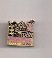 REF Y3 : Pin's Pin Jeux Video Atari Lynx Vindicators - Jeux
