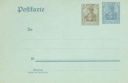 Deutsches Reich Ganzsache P70X * - Entiers Postaux