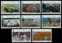 Isle Of Man 2007 - Mi-Nr. 1357-1364 ** - MNH - Gemälde - N. Sayle - Isle Of Man