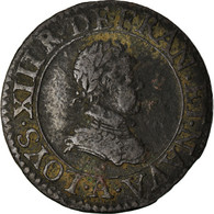 Monnaie, France, Louis XIII, Double Tournois, Buste Enfantin, Double Tournois - 987-1789 Royal