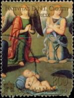 """Vatican 1999. ~ YT 1178 Par 2 - Lo Spagna """"Enfant Jésus Et 2 Anges"""" - Vatican"""