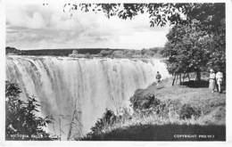 ZAMBIA Zambie : Victoria Falls / Chutes Victoria - CPSM Photo Format CPA - Afrique Noire Black Africa - Zambie