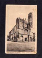 """94877    Francia,   Montesquieu-Volvestre,  L""""Eglise,  XIVe  Siecle,  NV - Muret"""